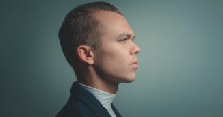 Photo of a man in profile